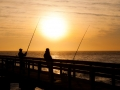Swakopmund-(Atlantic-sunset,-fishing-from-pier)